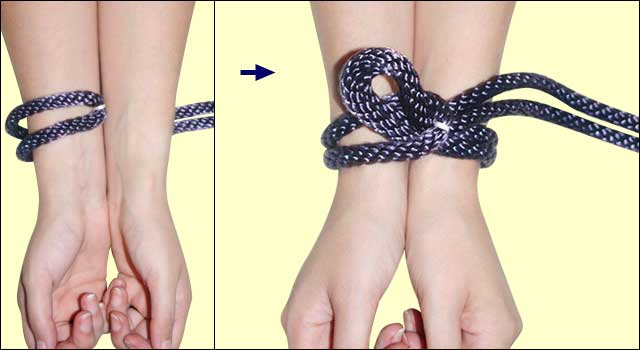 How to make a karada rope harness: step 1